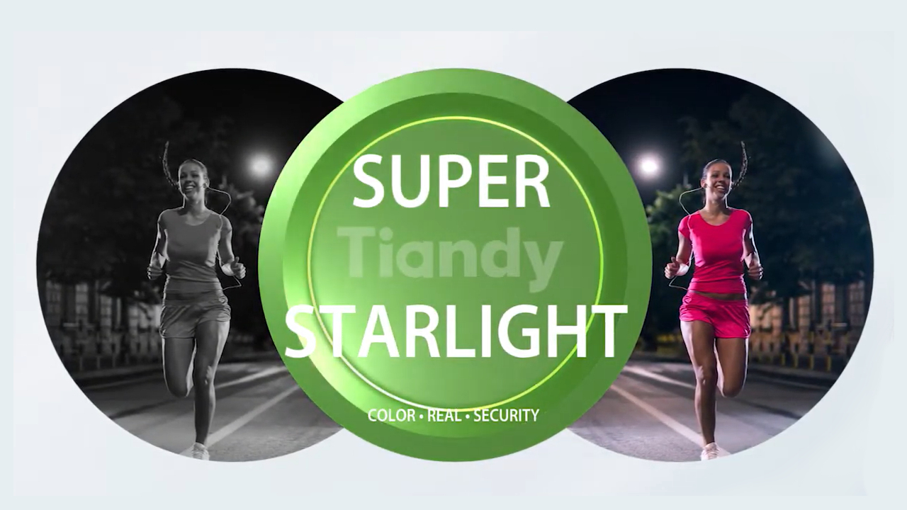 Tiandy Super Starlight Teknolojisi