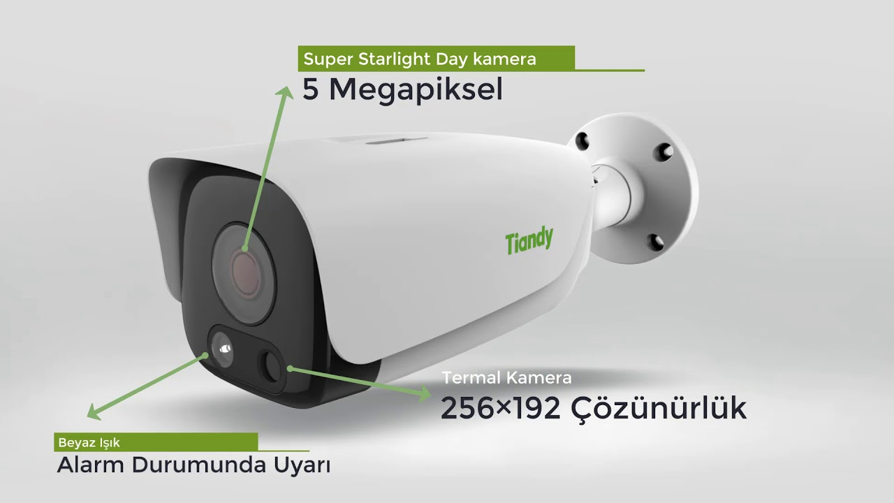 Tiandy Termal Kamera TC-C34LP